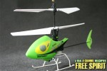 Модель р;у вертолета Nine Eagles Free Spirit Micro 2.4G 4-CH R;C Helicopter